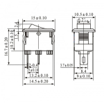 CHAVE GANGORRA KCD11-101 MINI
